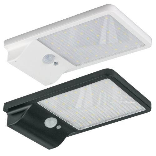 Solar PIR LED Floodlight, 500 Lumen | IP65 Wireless