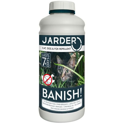 Jarder BANISH Cat, Dog & Fox Repellent Granules 650g